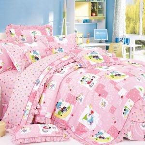 Детское постельное белье Сатин Love You cr-17008 110×150