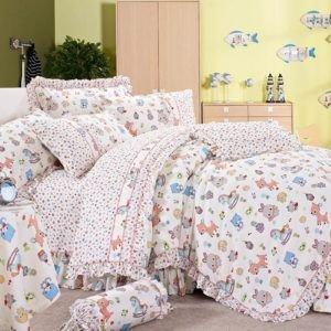 Детское постельное белье Сатин Love You cr-17016 110×150