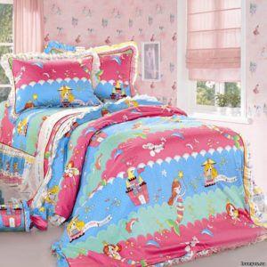 Детское постельное белье Сатин Love You cr-467 110×150