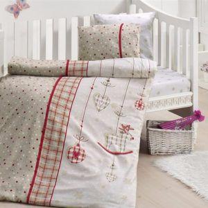 Детское постельное белье в кроватку First Сhoice Palmy Kirmizi 100×150