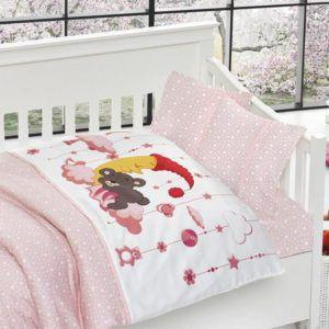 Детское постельное белье в кроватку First Сhoice Sleeper Pembe 100×150