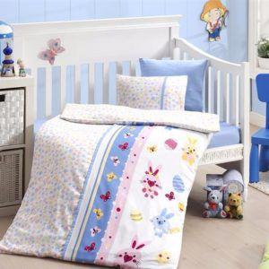 Детское постельное белье в кроватку First Сhoice Sweet Toys Mavi 100×150
