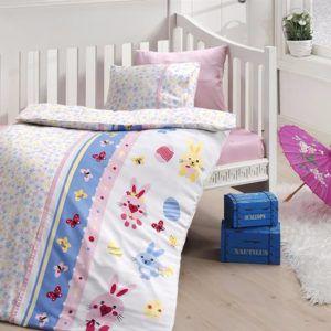 Детское постельное белье в кроватку First Сhoice Sweet Toys Pembe 100×150