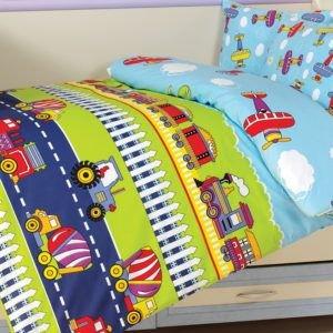 Детское постельное белье Class Fly 100х150 (CB08007807) Голубой