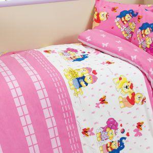 Детское постельное белье Class Happy v2 Pembe 100х150 (CB08007809) Розовый