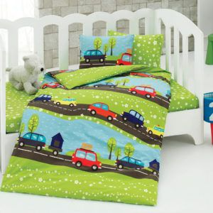 Детское постельное белье Class Journey v1 100х150 (CB08007805) Зеленый