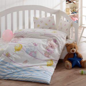 Детское постельное белье Class Olivia v2 Mavi 100х150