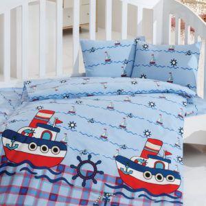Детское постельное белье Class Reis 100х150 (CB08007812) Голубой