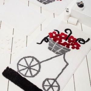 Коврик в ванную Chilai Home Alacati Red 60x100 (CB11006907) Белый|Серый