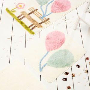 Коврик в ванную Chilai Home Balon Pink 60x100 (CB11006917) Кремовый
