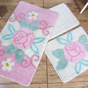 Коврик в ванную Chilai Home Garden Pink 60×100