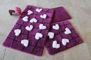 Коврик в ванную Chilai Home Kalbim Purple 60x100 (CB11006914) Фиолетовый