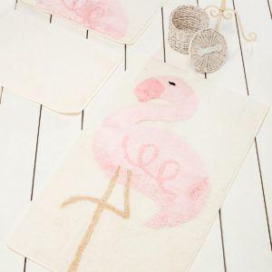 Коврик в ванную Chilai Home Pink Flamingo 60×100