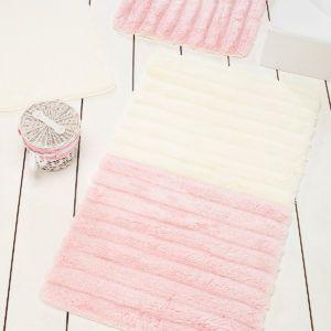 Коврик в ванную Chilai Home Soft Pink 60x100 (CB11006925) Кремовый|Розовый