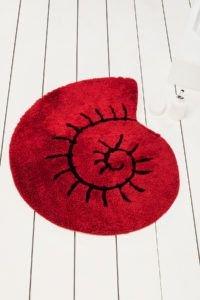Круглый коврик Chilai Home Helix Kirmizi 90 см. диаметр (CB110069124) Красный