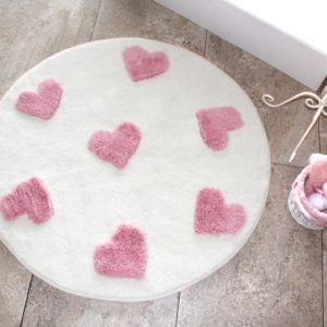 Круглый коврик Chilai Home Molia Ekru 90 см. диаметр (CB110069128) Белый