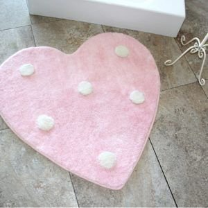 Круглый коврик Chilai Home Poni Pembe 90 см. диаметр (CB110069130) Розовый