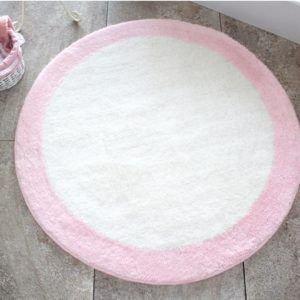 Круглый коврик Chilai Home Ronda Pembe 90 см. диаметр (CB110069133) Белый