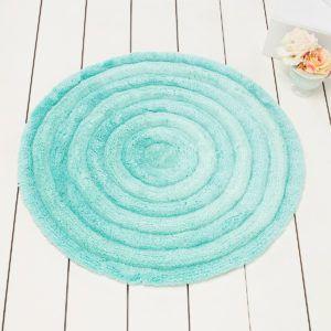 Круглый коврик Chilai Home Round Mint 90 см. диаметр