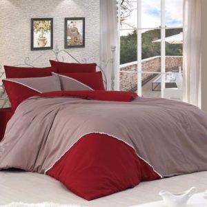 Однотонное постельное белье First Сhoice Jenna Vizon 200×220