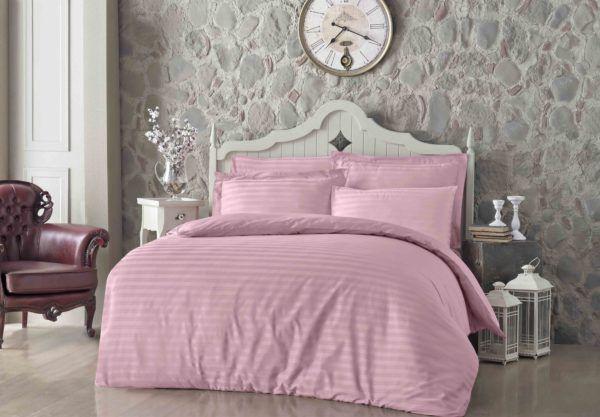 Постельное Белье Жаккард Altinbasak Pembe 200x220 (m013088) Розовый