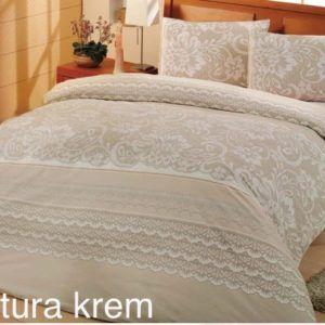 Постельное Белье Ранфорс Altinbasak Natura Cream R 200×220