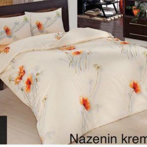 Постельное Белье Ранфорс Altinbasak Nazenin Krem R 200×220