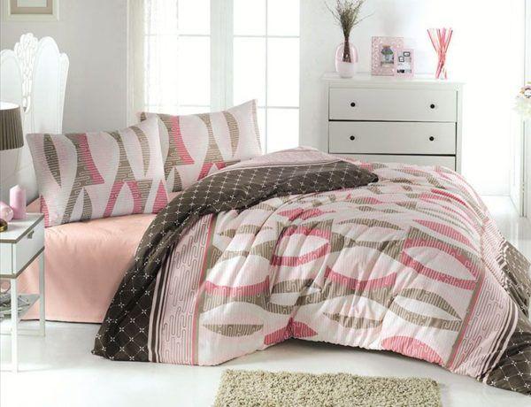 Постельное Белье Ранфорс First Сhoice Arrigo Somon 200x220 (m014086) Розовый