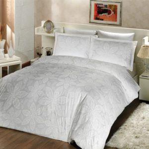 Постельное Белье Altinbasak Сатин Blenda  (m005493) Белый