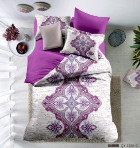 Постельное белье Сатин 3D Love You виолетта 200x220 (m013530) Фиолетовый