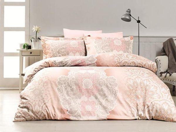 Постельное белье Сатин First Сhoice Lenka 200x220 (m014107) Розовый