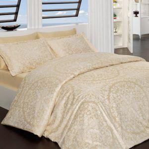 Постельное белье Сатин First Сhoice Vanessa Gold 200×220