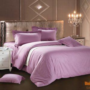 Постельное белье Сатин Love You светло-фиолетовый  (m011465) Сиреневый