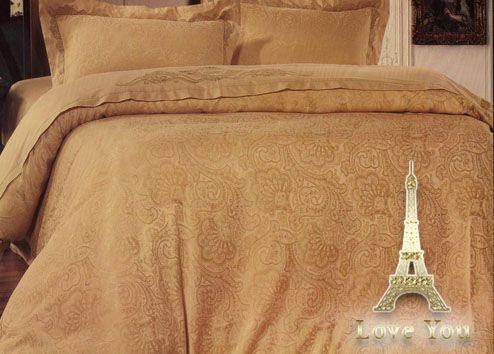 Постельное белье с вышивкой Love You Жаккард 1-14. 200×220