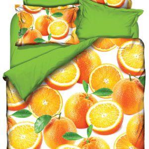 Постельное белье Class 3D Orange 200×220