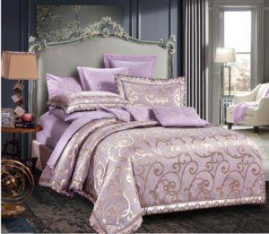 Постельное белье Love You Жаккард тн 17015 200x220 (m012655) Фиолетовый