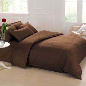 Постельное белье Love You двустороннее 23 коричневый 200×220