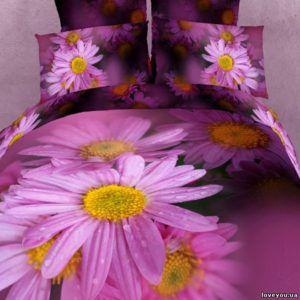 Постельное белье Love you Сатин 3D краса