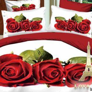 Постельное белье Love you Сатин 3D любовь