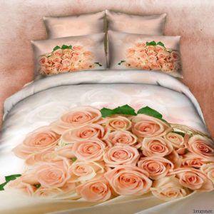 Постельное белье Love you Сатин 3D надежда 160×220