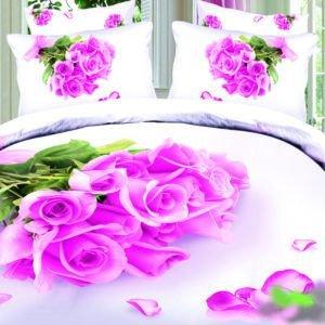 Постельное белье Love you Сатин 3D нежность