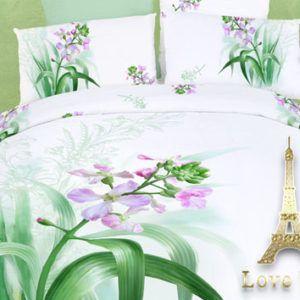 Постельное белье Love you Сатин 3D соло 160×220