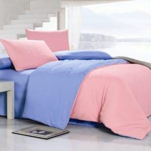 Постельное белье Valtery MO-17 200x220 (CB01008244) Розовый|Голубой