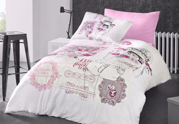 Постельное белье Ранфорс First Сhoice Lavonne 160x220 (m012635) Розовый