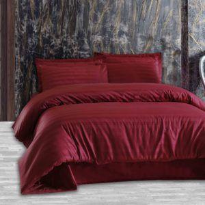 Постельное Белье Жаккард Altinbasak Red  (m013591) Красный