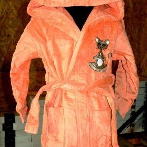 Детский халат Nusa персиковый m011074