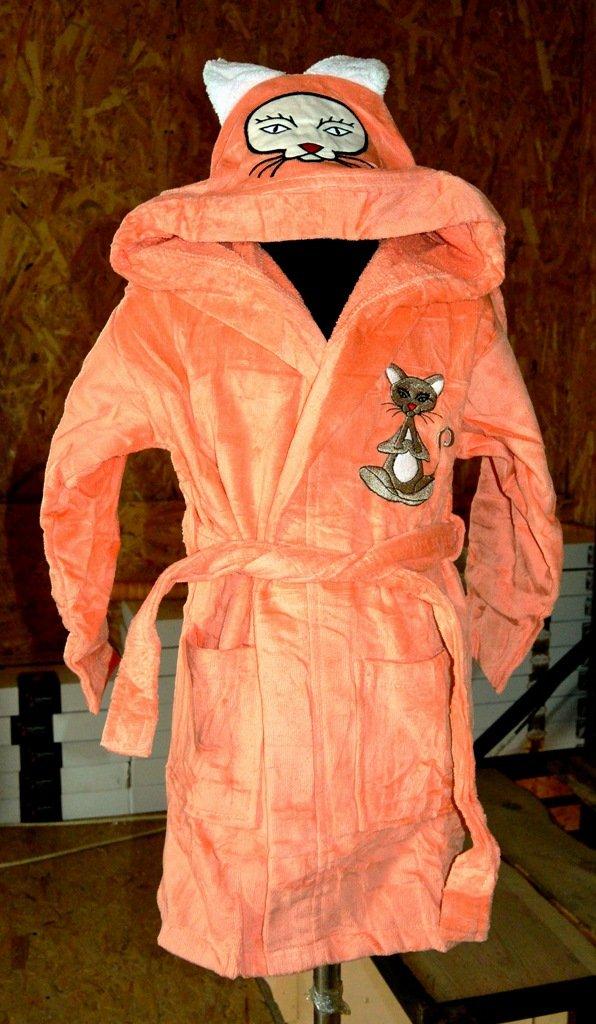 купить Детский халат Nusa Оранжевый фото