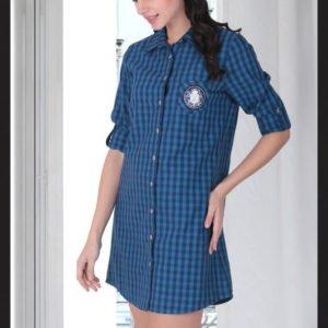 Женский халат Cocoon 11-3503 m013360  (m013360) Синий