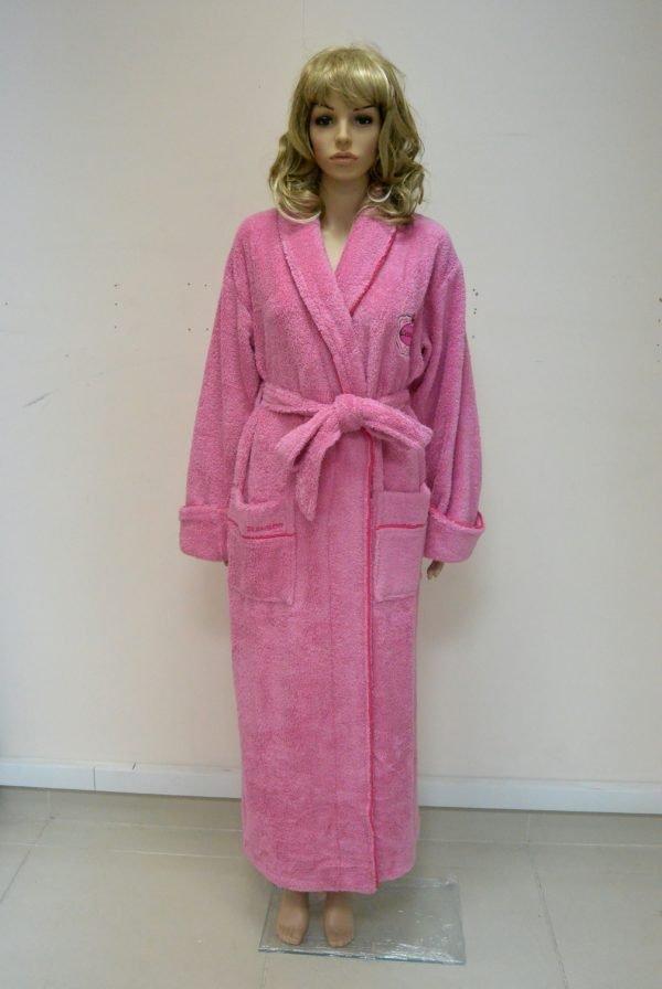 Женский халат Nusa ns 3585 сиреневый m008866 S (m008866) Розовый