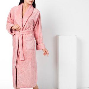 Женский халат Nusa ns 8535 пудра m013603 L/XL (m013603) Розовый